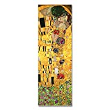 DXNB Colección de Arte Abstracto Artista clásico Gustav Klimt Beso Impresión en Lienzo Pintura...
