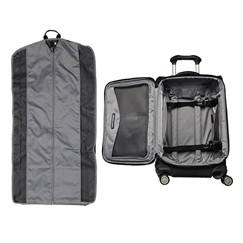 Travelpro Crew 11-Softside Expandable Luggage with Spinner Wheels, Black, Carry-On 21-Inch