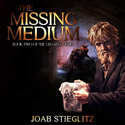 The Missing Medium audiobook cover art