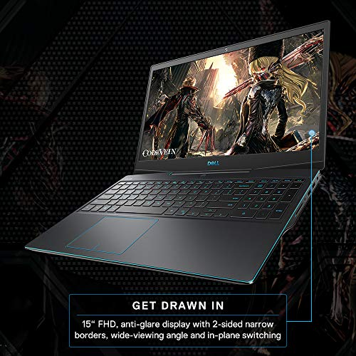 Dell G3 3500 15.6 Inch Gaming Laptop (10th Gen i7-10750H/16 GB/512 SSD/GTX 1660 Ti 6GB/1Yr Premium/Win 10/MS-Office H&S 2019) D560261WIN9BL