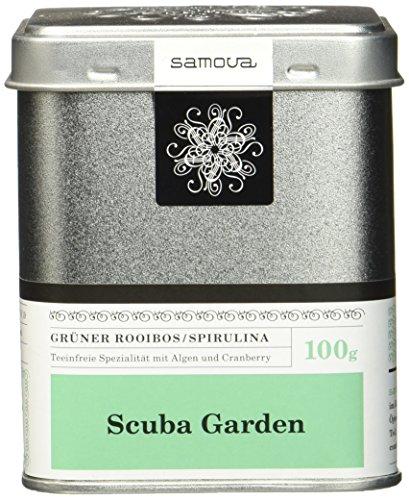 Samova Scuba Garden - Grüner Rooibos/Spirulina 100g, 1er Pack (1 x 100 g)