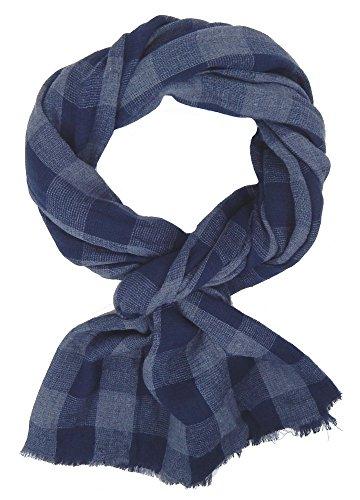 Ella Jonte Écharpes foulard d'homme élégant et tendance de la dernière collection by Casual-style blau