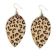 Tidoo Jewelry Rattan Summer Beach Style Women Dangle Earrings Beach Earrings for Girls