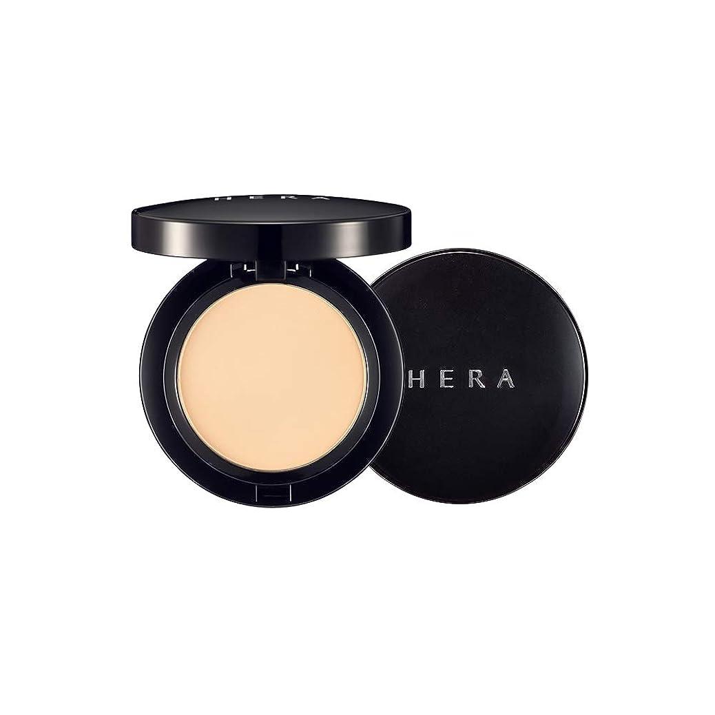 泥放棄された免除する【HERA公式】ヘラパーフェクト パウダー パクト 10g/HERA HD Perfect Powder Pact 10g (21号 ナチュラルベージュ) #21 Natural Beige