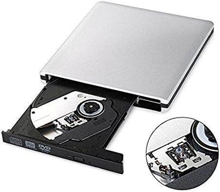 Ultra Slim External USB 3.0 CD//DVD-RW Writer Burner Player for Macbook Pro Air Imac or Other PC//Laptop