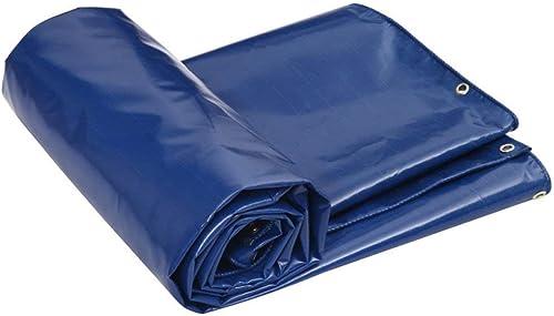 ATR Bache, bache résistante à l'eau, appropriée pour Couvrir Les Objets, décoration de Jardin, Camping en Plein air, Tente de Camping, Options Multi-Tailles, Bleu (Taille  4  3M)