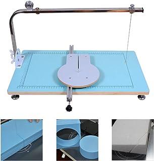 Cortador de poliestireno portátil, espuma de acero inoxidable y poliestireno, 72 W, altura de corte, anchura de 0 hasta 2...