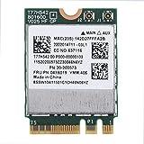 ASHATA Tarjeta WiFi de Banda Dual 2.4G/5, Tarjeta de Red 802.11n-c 433Mpbs Tarjeta inalámbrica NGFF para Lenovo para ThinkPad E455, E555 M50-70 M50-80 G70-70 G70-80 Z70-80 G50-30 G50-45, etc.