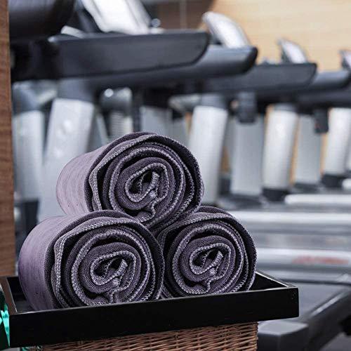 Fitness Handtuch Sport Towel saugfähig Sporthandtuch Microfaser Badetuch Strandhandtuch Sauna Handtuch 110x30cm 1 Stück