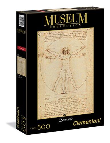 Puzzle de 500 Piezas, Museos, diseño Leonardo: Hombre Vitruviano (350018)