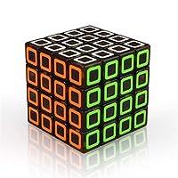 子供なしステッカーのための子供のための職業マジックキューブスピードキューブパズル立方クリエイティブパズルメンタル開発のおもちゃマジコおもちゃModeeducationalおもちゃキッド,fourth order