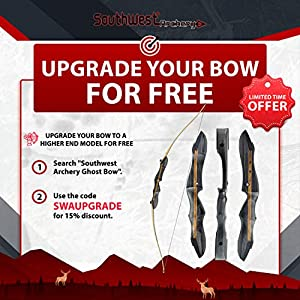 """Southwest Archery Spyder Takedown Recurve Bow and Arrow Set – Compact Fast Accurate 62"""" Hunting & Target Bow – Right & Left Hand – Draw Weights in 20-60 lbs – Beginner to Intermediate - USA Company"""