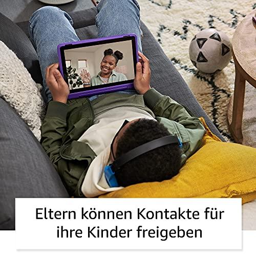 Amazon Fire HD 10 Kids Pro – Kinder-Tablet (2021) ab Grundschule – 10,1 Zoll, 32 GB - 6