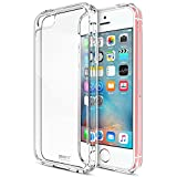 MTT® Shock Absorption Transparent Case for iPhone 5SE 5S 5 (Crystal Clear)