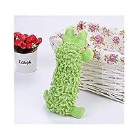 LovelyPet ぬいぐるみモップベルベットカエルカバモラー用品を鳴らすペット犬のおもちゃ (Color : A)