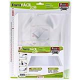 Grafoplás Fixo Cover 01014600. Blister de 5 Forra Fácil Eco con solapa ajustable de 310 x 520 mm
