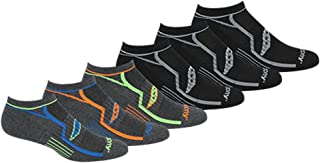 Saucony Men's Multi-Pack Performance Comfort Fit No-Show...