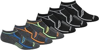 Men's Multi-Pack Bolt Performance Comfort Fit No-Show Socks