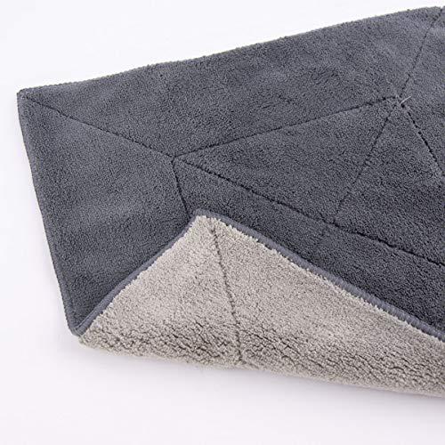 Kochblume Microfasertuch Putztuch 30 x 30 cm 20101 (anthrazit/grau), 30x30