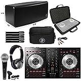 Pioneer DDJ-SB3 Starter Home DJ Controller, Bluetooth Speaker Headphones & Cases