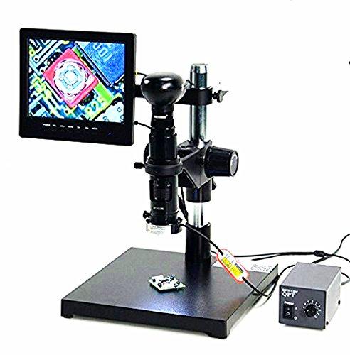 MXBAOHENG Industry Microscope Camera Set C Type Special Zoom Lens Industrial Camera AV/USB/VGA Output Didital Microscope SK2700P