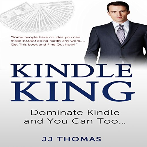 Kindle King audiobook cover art