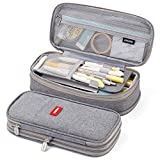 EASTHILL Big Capacity Pencil Pen Case Office College School Large...
