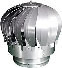 BestValue Go Rotating Chimney Cowl Roof Turbine Ventilator for 8