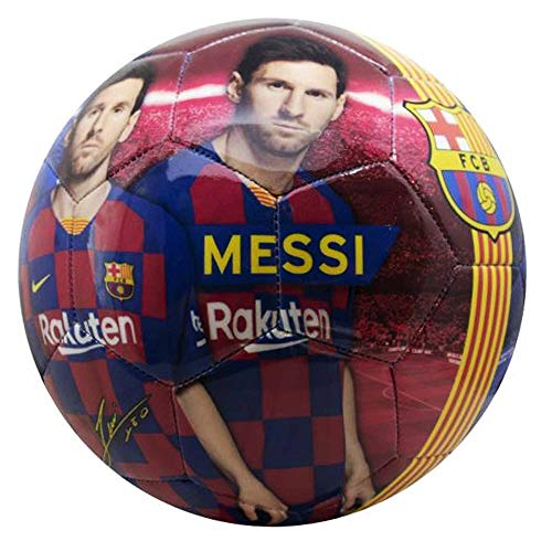 Balón de fútbol oficial Lionel Messi & FC Barcelona (La Liga) Talla 5