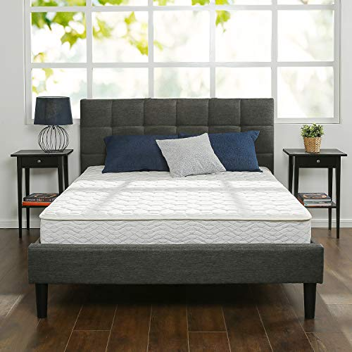 Zinus 8 Inch Foam and Spring Mattress / CertiPUR-US Certified Foams / Mattress-in-a-Box, Queen