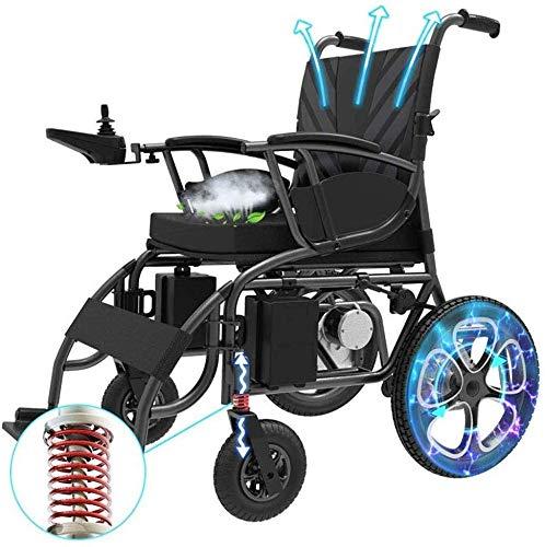 JINGQI Elektro-Rollstuhl faltbar leichte elektronische Stoßdämpfer für Behinderte