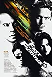 11X8 INCHES Filmposter The Fast and The Furious, ca. 28 x
