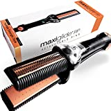 MaxiGlide RP - Hair Straightener - Controlled Steam Burst Technology - Styling and Detangling - 1 1/2 Plates