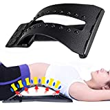 Magic Back Stretcher Lumbar Support Device - Back Pain Relief - 4 Adjustable Settings for Back Stretcher Device