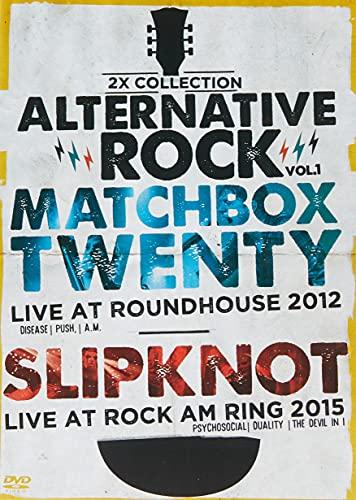 2X ALTERNATIVE ROCK VOL 01 - MATCHBOX TWENTY/ SLIP KNOT