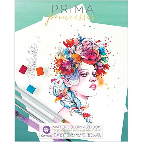 Prima Marketing Prima Princesses Coloring Book