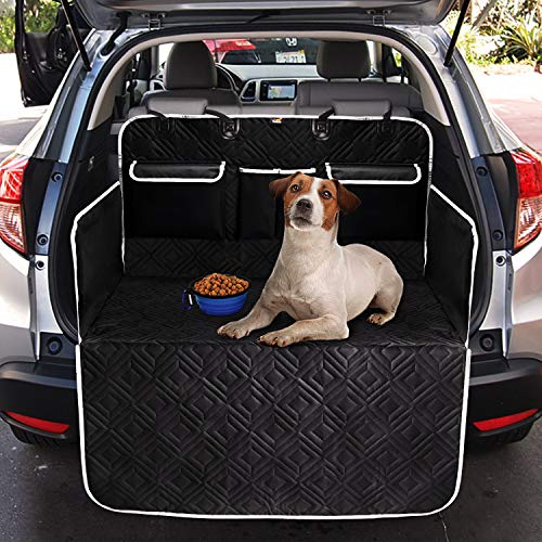 Toozey Protezione Completa Telo Auto per Cani con 3 Tasche - Resistente Agli Sstrappi e...