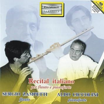 Recital italiano per flauto e pianoforte