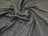 Minerva Crafts Schwerer Woll-Strickstoff, Erd-Tweed,