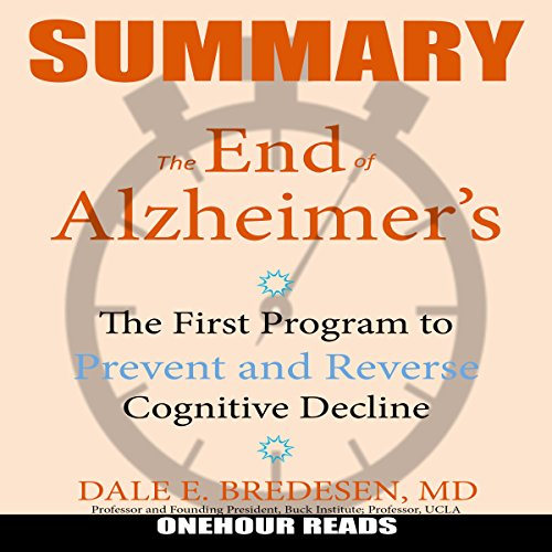 Summary: The End of Alzheimer's audiobook cover art