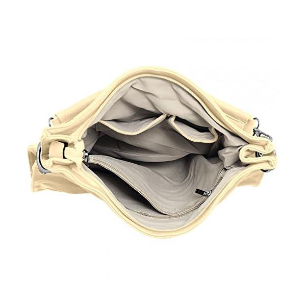 Caspar TS561 Bolso de Mano para Mujer Bolso de Bandolera en Varios Colores
