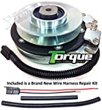 Xtreme Outdoor Power Equipment Bundle - 2 Items: PTO Electric Blade Clutch, Wire Harness Repair Kit. X0041 Replaces Dixon ZTR 6023, ZTR 7025, ZTR 7225 PTO Clutch 61516 60499 60473 OEM Upgrade