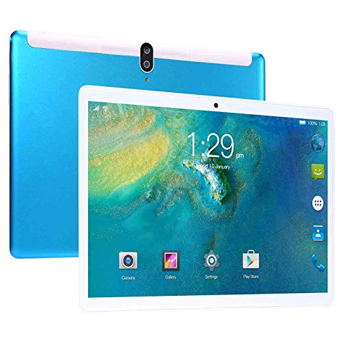 Android 8.0 Phablet Tablet Quad-Core 8 GB RAM 128 GB ROM 8.0 MP + 13.0 MP Camera Dual SIM Bluetooth 3G Phone Call and WiFi Tablet 10.1'' Tablet PC