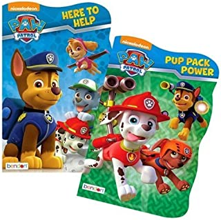 Paw Patrol Board Book Set - 2 Shaped Board Books (Original Version)