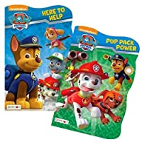 Paw Patrol Board Book Set - 2 Shaped Board Books [並行輸入品]
