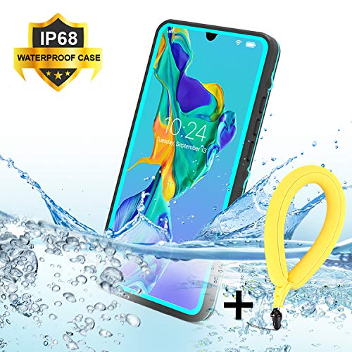 SenMore P30 Pro Funda Impermeable,IP68 Waterproof Outdoor Delgado Cover a Prueba de choques Anti-rasguños Full Body Protector Case Impermeable Funda para Huawei P30 Pro (6.47
