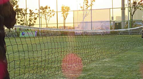 RUIXIB Volleyballnetz, faltbar, tragbar, für drinnen und draußen, Netz, Volleyball-Trainingsnetz, Sportausrüstung für Schuolyard, Hinterhof, Hof, Strand, Garten, Auffahrt
