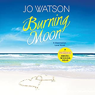 Burning Moon audiobook cover art