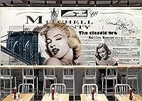 写真の壁紙レトロなノスタルジックな美しさの装飾的な絵画の背景の壁リビングルームの壁の芸術の壁の装飾の家の装飾のための大きな壁壁画シリーズの壁紙-137.8x98.4inch/350cmx250cm