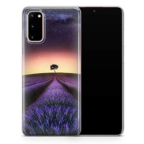 Funda para Samsung S7 Edge Lavender Fields D007 - Diseño 1